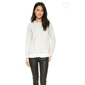 Club Monaco Kaelane Layered Sweater - Side Slits